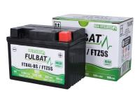 Batteri Fulbat High Power GEL +25% 5AH FTX4L-BS / FTZ5S SLA