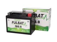 Batteri Fulbat FB4L-B GEL High Power 5Ah