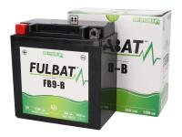 Batteri Fulbat FB9-B / 12N9-4B1 / 12N9-BS GEL