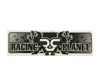 Dekal Racing Planet 100x30mm - svart